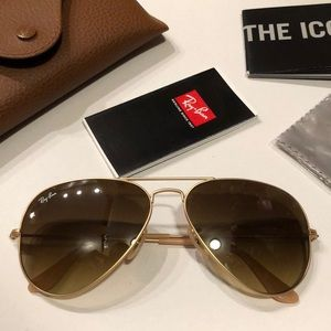 Ray-Ban Aviator Sunglasses RB 3025 🕶